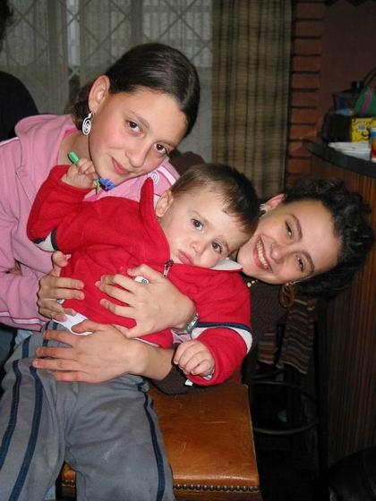 Lidia, Artur, Raquel